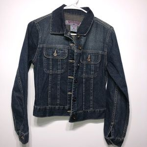 Silver Jeans Denim Jacket Size Small